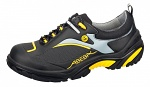 ABEBA - 34803-38 - ESD safety shoes Crawler, low shoe black/yellow, size 38, WL34863