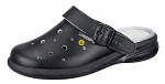ABEBA - 37631-35 - ESD Clogs black, professional shoes Easy perforated, size 35, WL29768