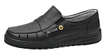 ABEBA - 32310-39 - ESD professional shoes air cushion, slipper black, size 39, WL29691