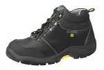 ABEBA - 32270-36 - ESD safety shoes anatomical, boots black in ATEX design, size 36, WL29665