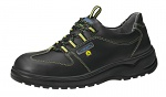 ABEBA - 31874-35 - ESD safety shoes light, lace-up shoe black, size 35, WL29510