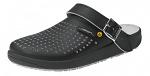 ABEBA - 5310-36 - ESD Clogs black, professional shoe rubber, size 36, WL33984