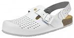 ABEBA - 4050-34 - ESD Clogs white, professional shoe Nature, size 34, WL39629