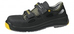 ABEBA - 1275-36 - ESD safety shoes Static Control, sandal black, size 36, WL41476