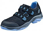 ATLAS - 233-36 - ESD low shoe with velcro fastener, Sportline, black/blue, size 36, WL40918