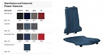 BIMOS - 9865-2001 - Sintec Interchangeable pad integral foam, blue, WL40186