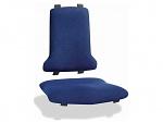 BIMOS - 9875E-9802 - ESD Upholstery: fabric, blue, WL31103