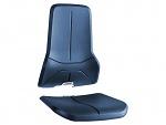 BIMOS - 9588-2001 - Upholstery for work chair Neon, integral foam blue, WL40173