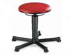 BIMOS - 9467-6903 - Stool 1 with glider, imitation leather red, WL40314