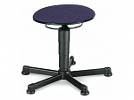 BIMOS - 9467-6802 - Stool 1 with glider, fabric Duotec blue, WL40308