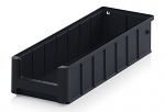 ESD RK 41509 - ESD shelf and material flow box, black, 400x156x90 mm, WL44288