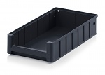 ESD RK 4209 - ESD shelf and material flow box, black, 400x234x90 mm, WL44758