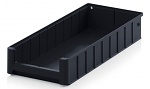 ESD RK 5209 - ESD shelf and material flow box, black, 500x234x90 mm, WL45448