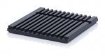 ESD SB.H - ESD-Schubladenbehälter Einzelkomponenten, max. 12 Einschubnuten, WL43741