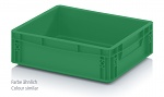 400-300-120-EG - Euro container 400 x 300 x 120 mm, Traffic Green, WL39686