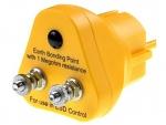 30-552-0625 - ESD Erdungsstecker, gelb, WL24953