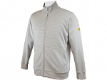 HB SCHUTZBEKLEIDUNG - 08014 86012 001 50 - ESD sweat jacket with zip, grey 300 g/m², XS, WL28275