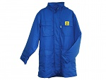 HB SCHUTZBEKLEIDUNG - 08002 18003 000 41 - ESD Parka NAPTEX, long sleeve, unisex, blue, XS, WL27509