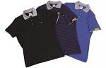 HB SCHUTZBEKLEIDUNG - 08011 86013 000 2064 - ESD polo shirt CONDUCTEX men, grey/blue, breast pocket, XS, WL28294
