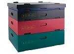 HANS KOLB - 03-CSC - Stackable container, blue - 389x278x67mm, WL31558