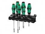 WERA - 05007680001 - 334 SK/6 Rack Screwdriver Set, Kraftform Plus Lasertip + Rack, WL30975