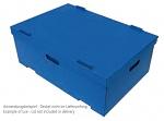 WARMBIER - 5510.SB.400.A - ESD stacking box SAFESHIELD 400 x 300 x 115 mm, WL40755