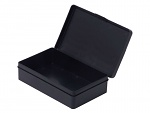 WARMBIER - 5351.1308.030 - box with hinged lid, carbon, 130x80x30 mm, WL44959