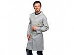 WARMBIER - 2640.AM160.M - ESD work coat, unisex, grey, 3/4 length, M, WL33215