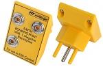 SAFEGUARD - SafeGuard ESD - ESD Erdungsstecker für die Schweiz, 3 x 10 mm Druckknopf, gelb, WL34197