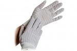WARMBIER - 8745.PUB8.S - ESD glove polyester, cuffs, PU = 10 pairs, S, WL36633