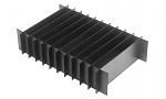 WARMBIER - 5420.253.20.120 - ESD Short dividers for compartments, in storage container 400 x 300 mm, 253 x 120 x 3 mm, WL25789
