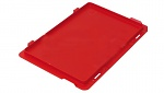 WARMBIER - 5311.R.32.S - ESD IDP-STAT® hinged lid, conductive, red, 300x200 mm, WL46034