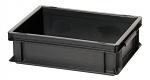 WARMBIER - 5310.10 - ESD storage container, conductive, black, 400 x 300 x 120 mm, WL26590