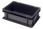 WARMBIER - 5310.05 - ESD storage container, conductive, black, 300 x 200 x 120 mm, WL30832