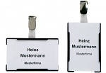 WARMBIER - 5221.2 - ESD ID card pocket IDP-STAT, clip closure, black, WL33943