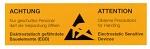 WARMBIER - 2850.26105.DE - Warning sign, paper, German/English, roll, WL20100