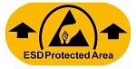 WARMBIER - 2822.1.EPA - Floor marking sticker ESD Protected Area, PVC film, WL32913