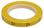 WARMBIER - 2820.12733.Y - ESD adhesive tape PVC, yellow, 12,7 mm x 33 m roll, WL32231