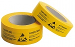 WARMBIER - 2800.T.3866 - Paper tape, yellow, 38 mm x 66 m roll, German/English, WL24980