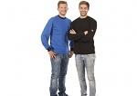WARMBIER - 2647.T.S - ESD T-Shirt long sleeve, blue, unisex, S, WL31991