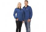 WARMBIER - 2647.P.XS - ESD Polo-Shirt long sleeve, blue/black, unisex, XS, WL44103