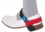 WARMBIER - 2560.890.R - ESD heel strap continuous use with clip, red heel strap, unisex, WL32101