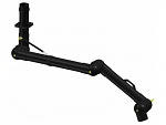 ALSIDENT - 100-6555-3-6 - Extraction arm DN100 1370 mm, black, 3 joints, WL35114