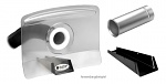 ALSIDENT - 1-50-33-5 - Flat hood DN50/transparent, WL27102
