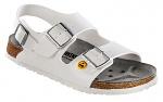 BIRKENSTOCK - 634880-35 - ESD Sandals MILANO 35 white, normal, heel strap, WL28677