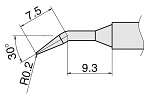 HAKKO - T15-JL02 - Soldering tip for FM2027 and FM2028, D 0.2 mm, short form angled, WL25954