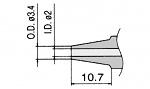 HAKKO - N1-20 / N3-20 - Desoldering nozzle for FM-2024-02, WL23426