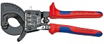 KNIPEX - 95 31 250 - Cable cutter (ratchet principle), WL23700
