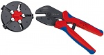 KNIPEX - 97 33 01 - MultiCrimp® crimping pliers with change magazine burnished 250 mm, WL35544