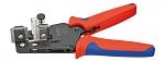 KNIPEX - 12 12 02 - Wire stripper 0.03 - 2.08 mm², WL19791